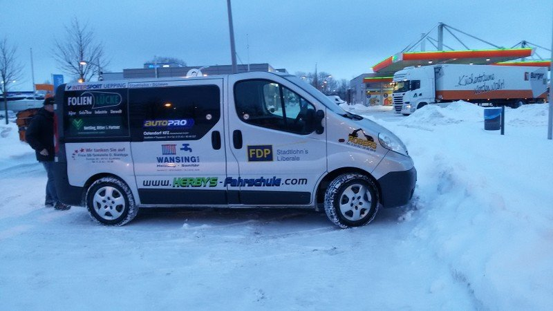 1. Viel Schnee Skandinavian Park