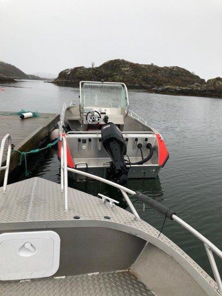 Nahaufnahme von den Booten